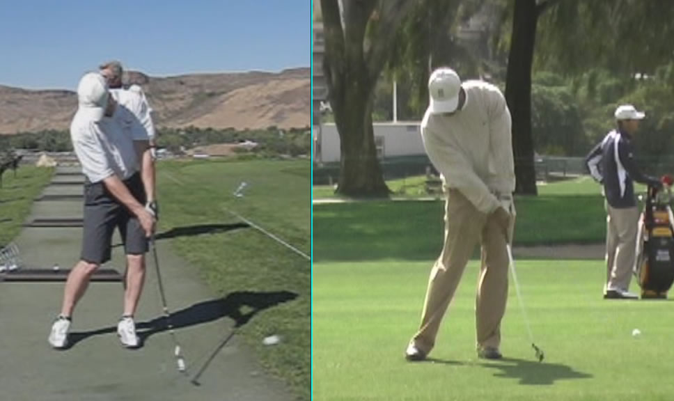 tiger woods impact position